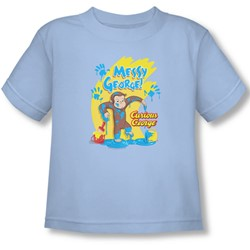 Curious George - Toddler Messy George  T-Shirt