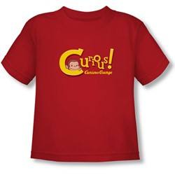 Curious George - Toddler Curious  T-Shirt