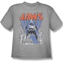 Jaws - Big Boys Comic Splash T-Shirt