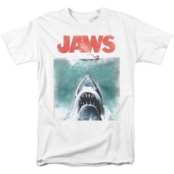 Jaws - Mens Vintage Poster T-Shirt