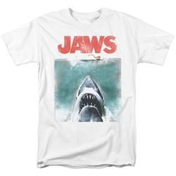 Jaws - Mens Vintage Poster T-Shirt