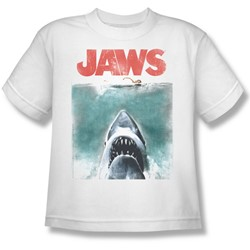 Jaws - Big Boys Vintage Poster T-Shirt