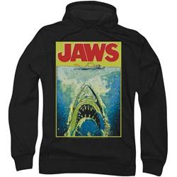 Jaws - Mens Bright Jaws Hoodie