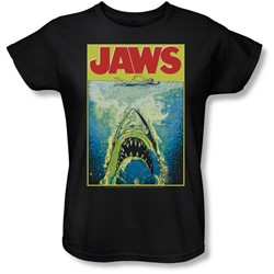Jaws - Womens Bright Jaws T-Shirt