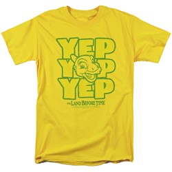 Land Before Time - Mens Yep Yep Yep T-Shirt