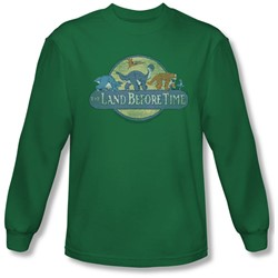 Land Before Time - Mens Retro Logo Longsleeve T-Shirt