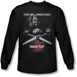 Child's Play 2 - Mens Jack Poster Longsleeve T-Shirt