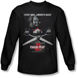 Child's Play 2 - Mens Jack Poster Longsleeve T-Shirt