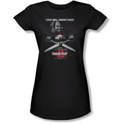 Child's Play 2 - Juniors Jack Poster Sheer T-Shirt