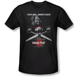 Child's Play 2 - Mens Jack Poster Slim Fit T-Shirt