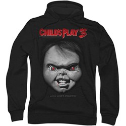 Childs Play 3 - Mens Face Poster Hoodie