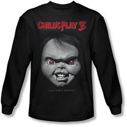 Childs Play 3 - Mens Face Poster Longsleeve T-Shirt