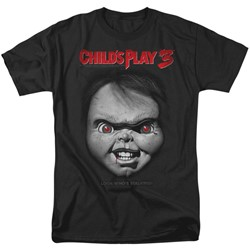 Childs Play 3 - Mens Face Poster T-Shirt