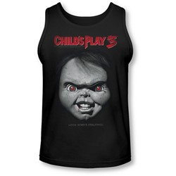 Childs Play 3 - Mens Face Poster Tank-Top