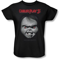 Childs Play 3 - Womens Face Poster T-Shirt
