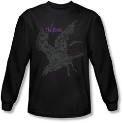 Birds, The - Mens Poster Longsleeve T-Shirt