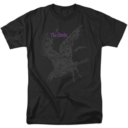 Birds, The - Mens Poster T-Shirt