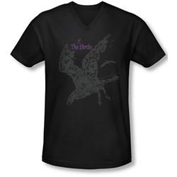 Birds, The - Mens Poster V-Neck T-Shirt