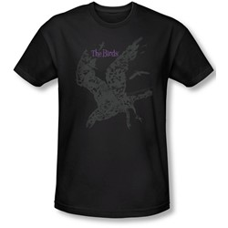 Birds, The - Mens Poster Slim Fit T-Shirt