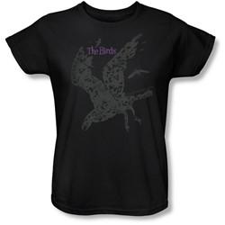Birds, The - Womens Poster T-Shirt