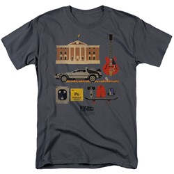 Back To The Future - Mens Items T-Shirt
