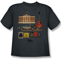 Back To The Future - Big Boys Items T-Shirt