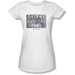 Sixteen Candles - Juniors Dreamers Sheer T-Shirt