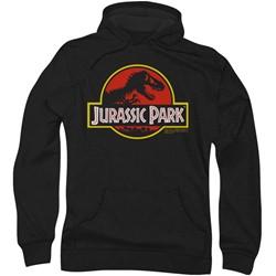Jurassic Park - Mens Classic Logo Hoodie