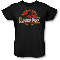 Jurassic Park - Womens Classic Logo T-Shirt