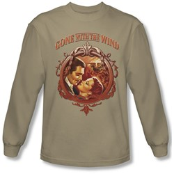 Gone With The Wind - Mens Classic Romance Longsleeve T-Shirt