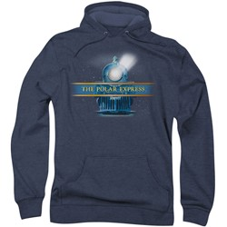 Polar Express - Mens Train Logo Hoodie