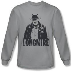 Longmire - Mens One Color Longsleeve T-Shirt