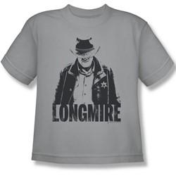 Longmire - Big Boys One Color T-Shirt