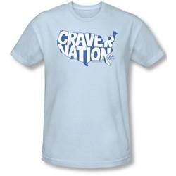White Castle - Mens Craver Nation Slim Fit T-Shirt