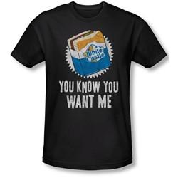 White Castle - Mens Want Me Slim Fit T-Shirt