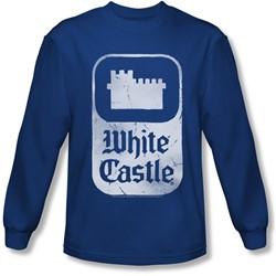 White Castle - Mens Classic Logo Longsleeve T-Shirt