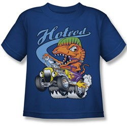 Funny Tees - Little Boys Hotrod T-Shirt