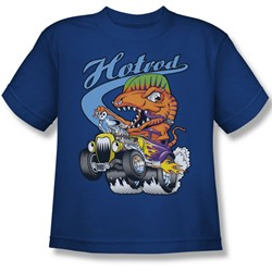 Funny Tees - Big Boys Hotrod T-Shirt