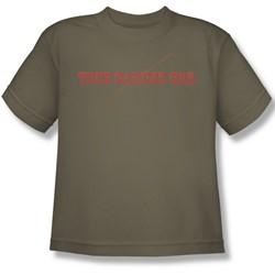 Funny Tees - Big Boys True Garden Hoe T-Shirt