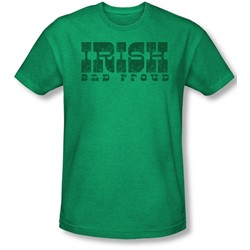 Funny Tees - Mens Irish And Proud T-Shirt