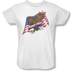 Funny Tees - Womens Born Free T-Shirt