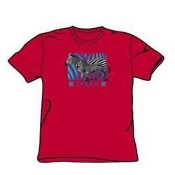 Zebra - Big Boys Red S/S T-Shirt For Boys
