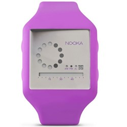 Nooka - Zub Zirc Watch in Purple/Silver