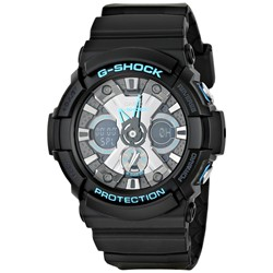 G-Shock - GA201 Blue Accents Watch