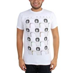 The Doors - Mens Jim Head Repeat T-Shirt