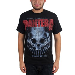Pantera - Mens Domination Distressed T-Shirt