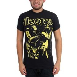 The Doors - Mens Doors Live Neon Yelloow T-Shirt