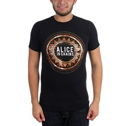 Alice In Chains - Mens Circle T-Shirt