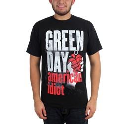 Green Day - Mens Smoke Screen American Idiot T-Shirt