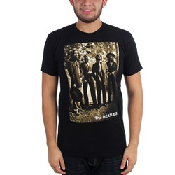 The Beatles - Mens Sepia 1969 T-Shirt